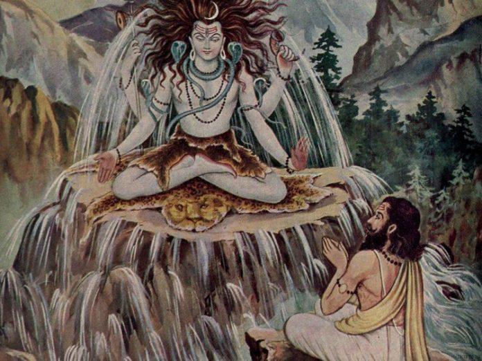 Bhagiratha and Ganga