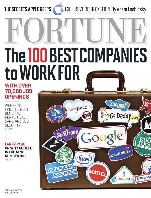 Top 100 Companies To Work For In 2012: Which One Is Best For