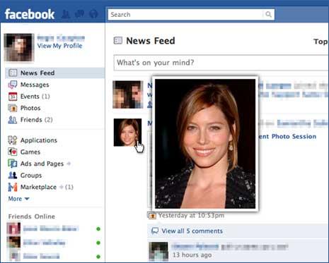 Facebook Photo Zoom google Chrome Extension