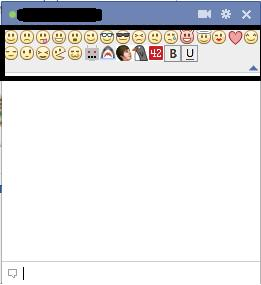 Facebook Chat Smiley Chrome Pluging