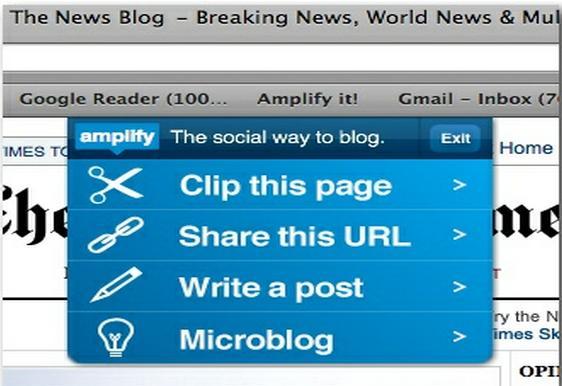 Chrome Web Store - Amplify