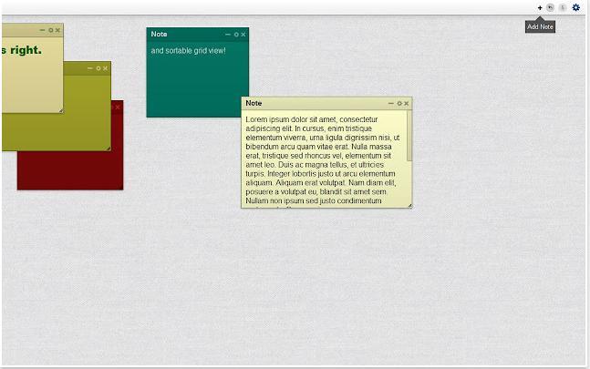Chrome Web Store - Sticky Notes