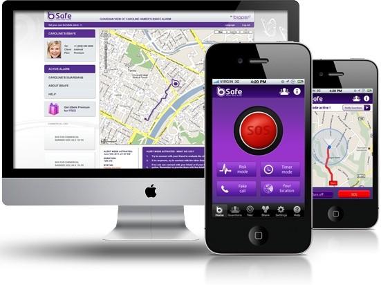 bSafe App For Smartphone