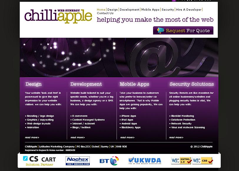 chilliapple website development company