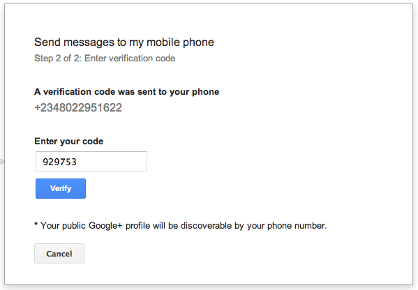 compose gmail to phone as sms