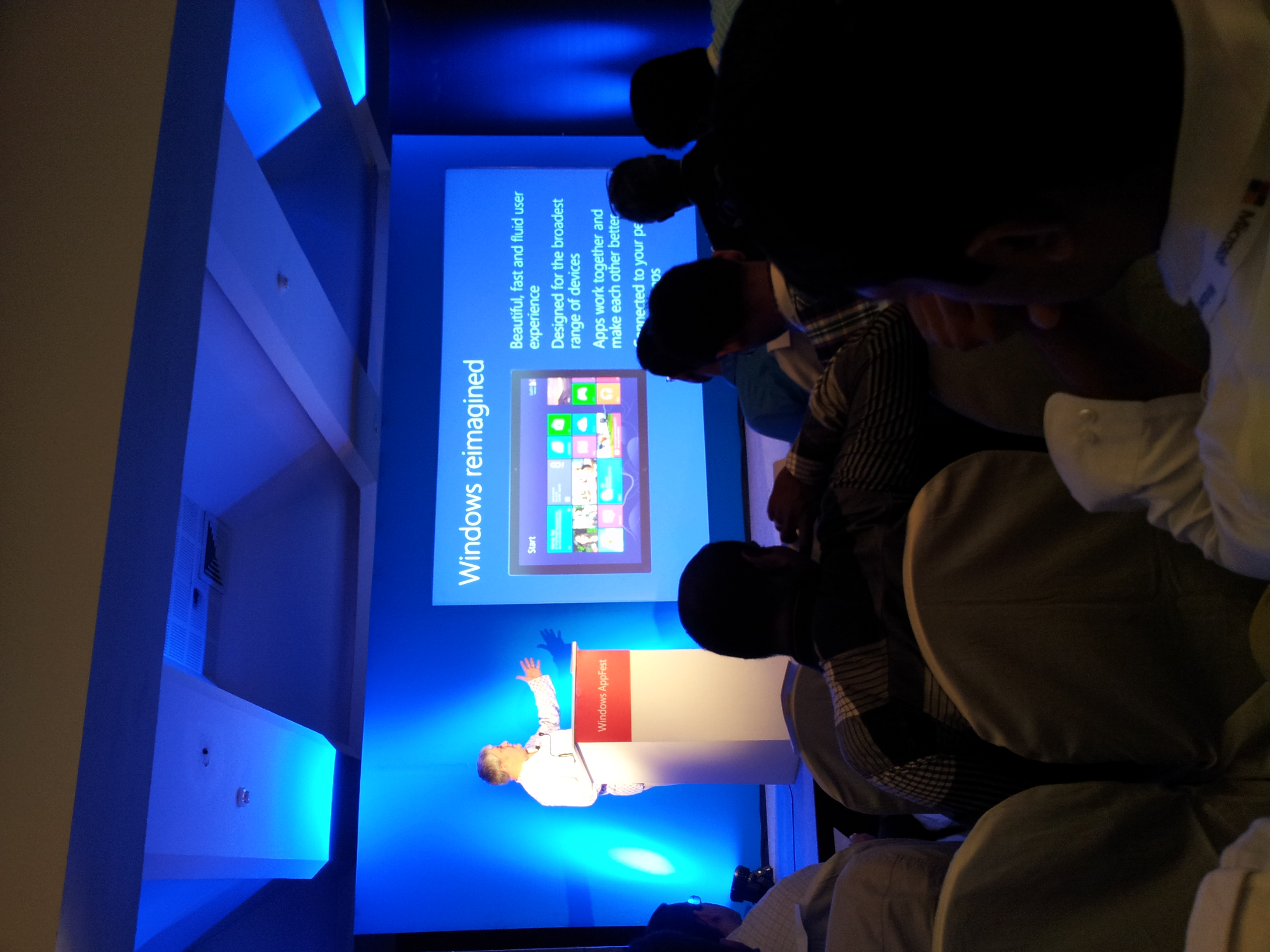 Windows 8 App Fest Live From KTPO Bangalore