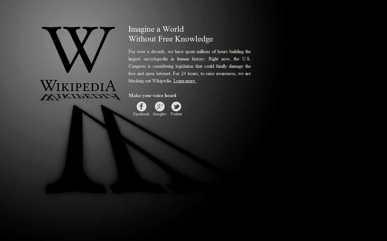 Wikipedia Top ten articles 2012
