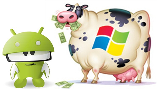 Microsoft Q2 2013 Earnings - $1.31 Billion from Android
