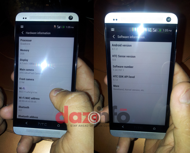 HTC One in India