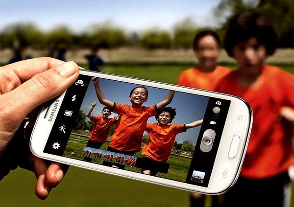 Samsung smartphones sales