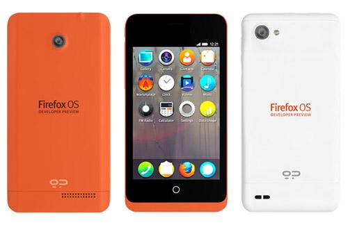 Firefox OS mobiles