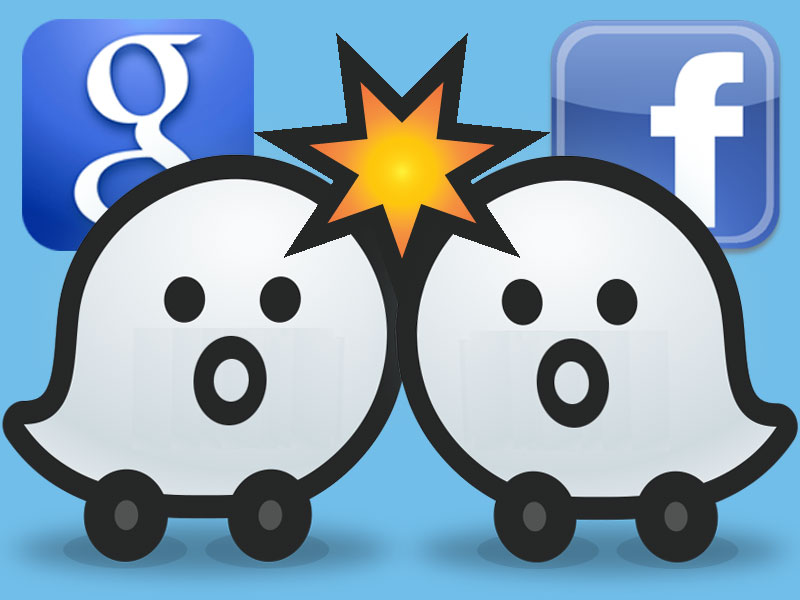 Google and Facebook Waze Tussle