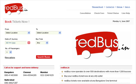 RedBus.in Acquisition