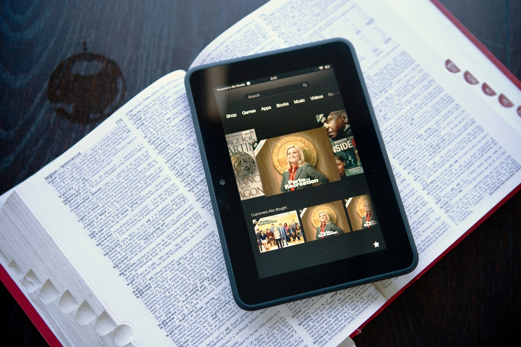 Top 5 Tablets in India: Kindle Fire HD