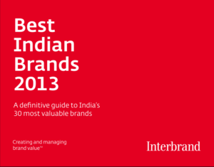 Best Indian Brands 2013