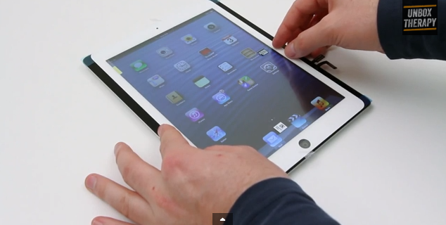 Apple Inc iPad 5 video
