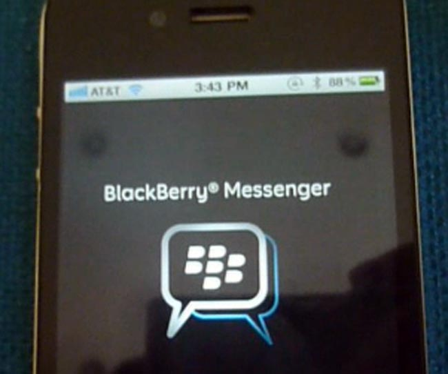 BBM app on Android