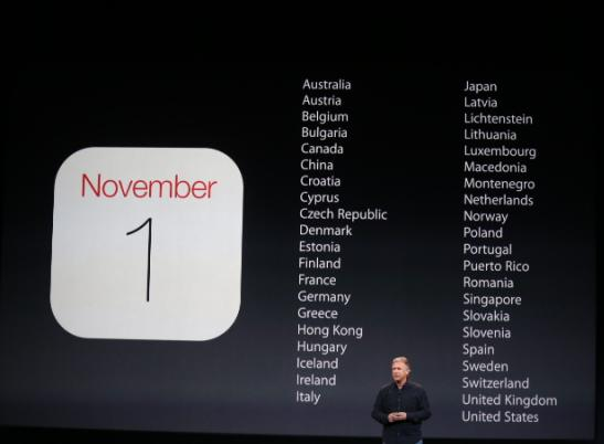 Date of shipment for ipad