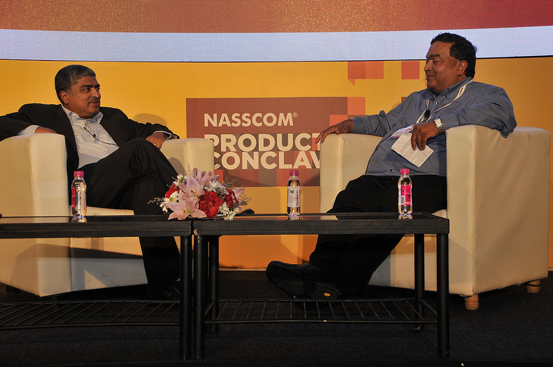 Nandan Nilekani at Nasscom Product Conclave 2013
