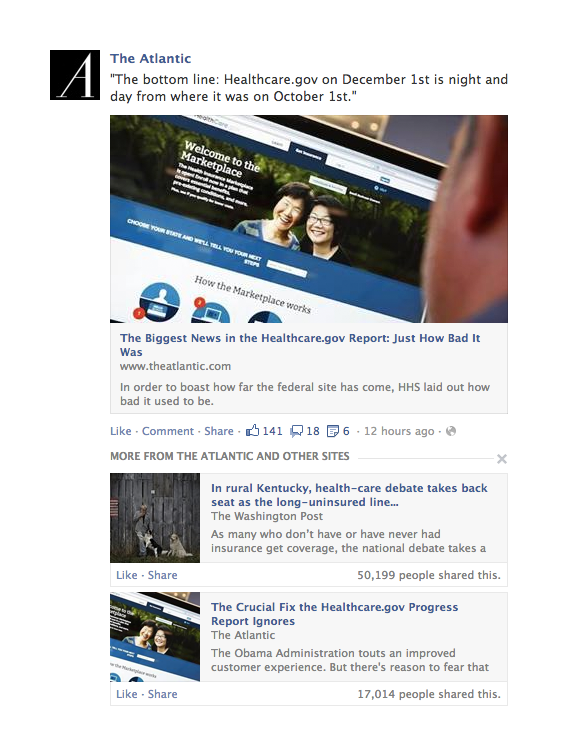 revamped news feed