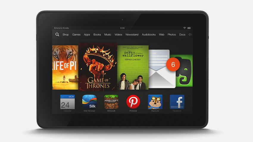 Amazon Kindle Fire OS 3.0