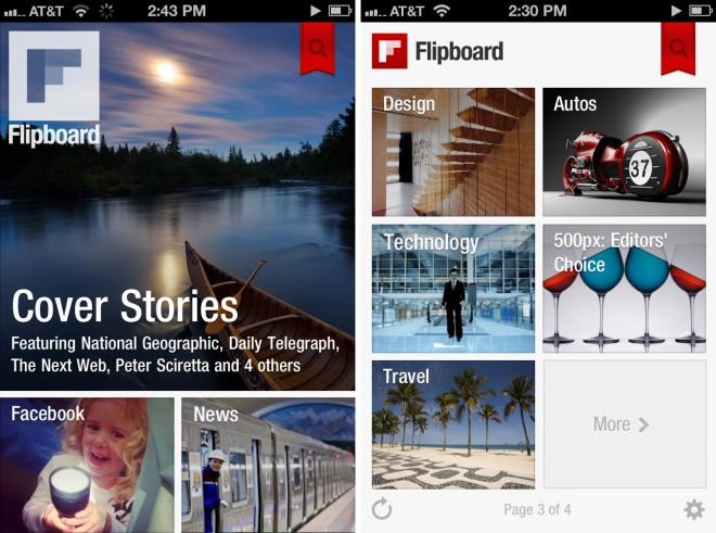 Facebook Flipboard Killer App