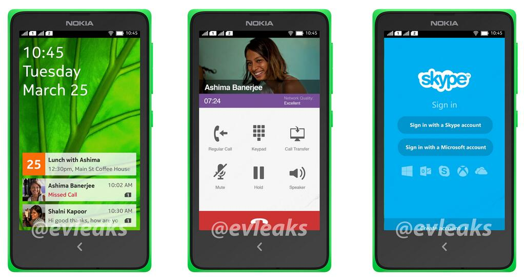 Nokia Normandy A110 Android