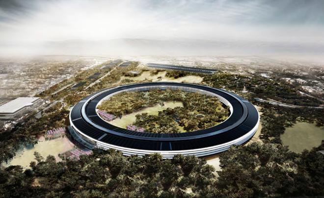 Apple Inc Spaceship Campus
