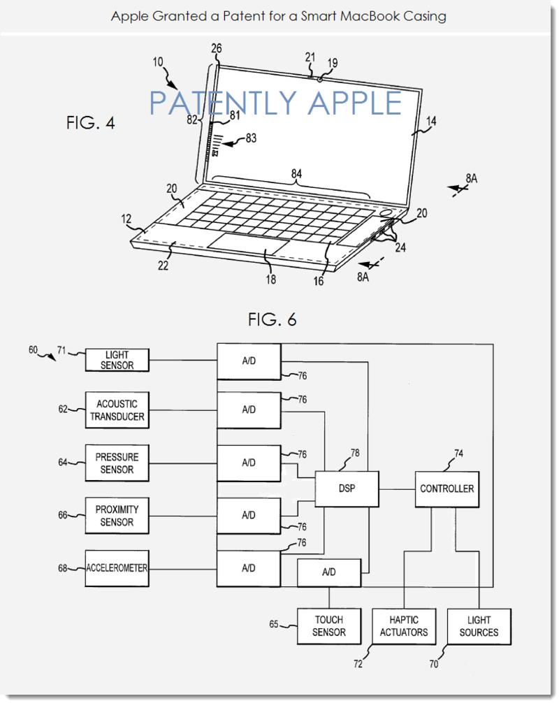 Apple Reconfigurable Macbook Patent
