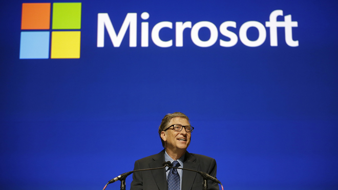 Bill Gates: a history at Microsoft