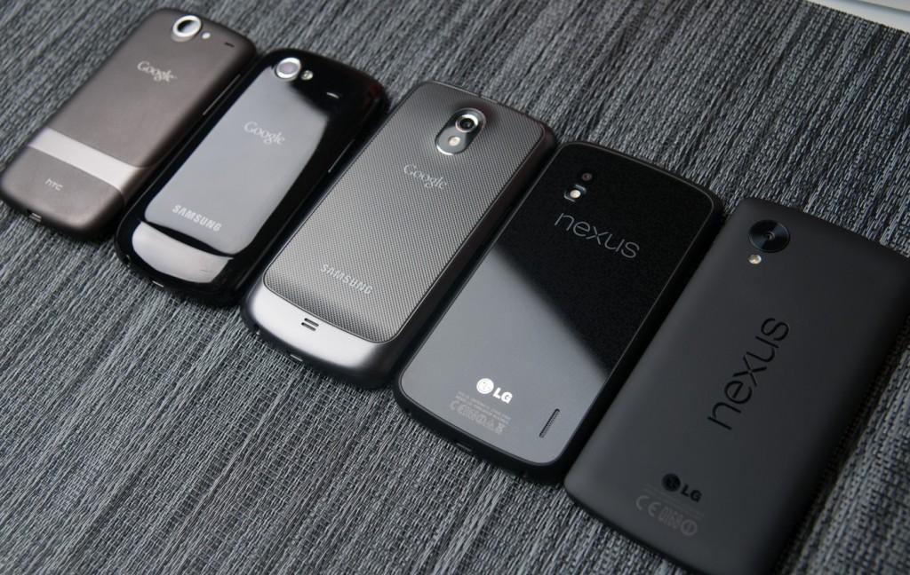 Google Nexus Smartphone Devices