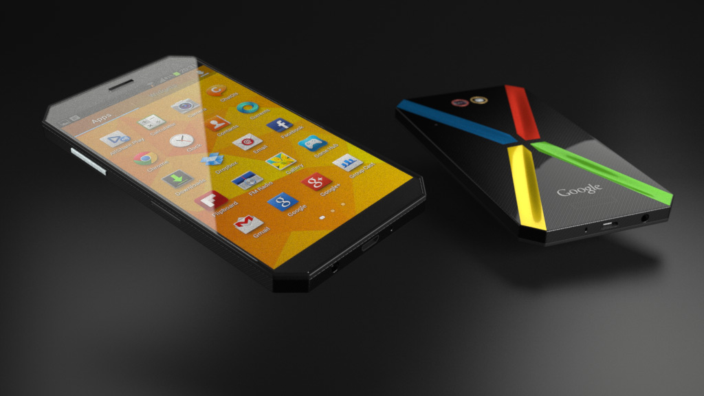 A concept image of Google Nexus 6