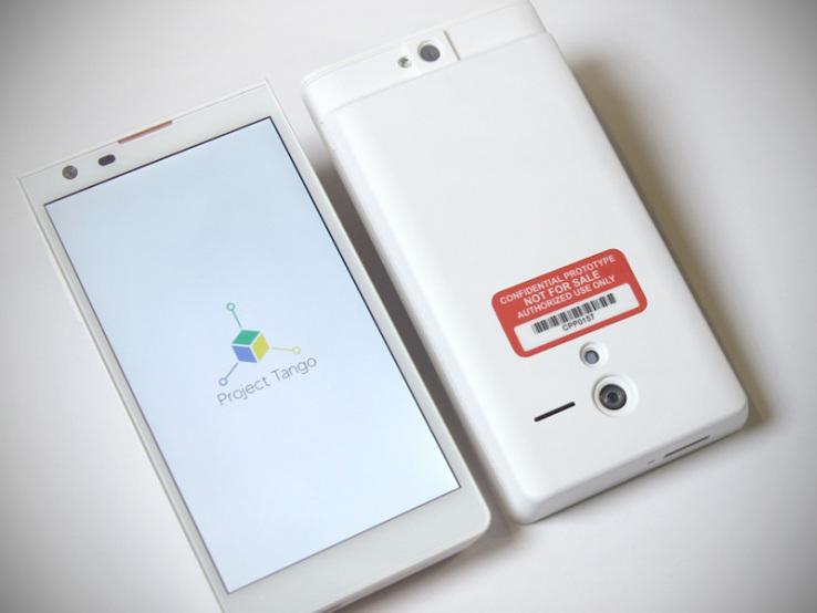 Google Project Tango: 3D Smartphone