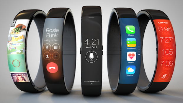 iwatch nike fuel band concept