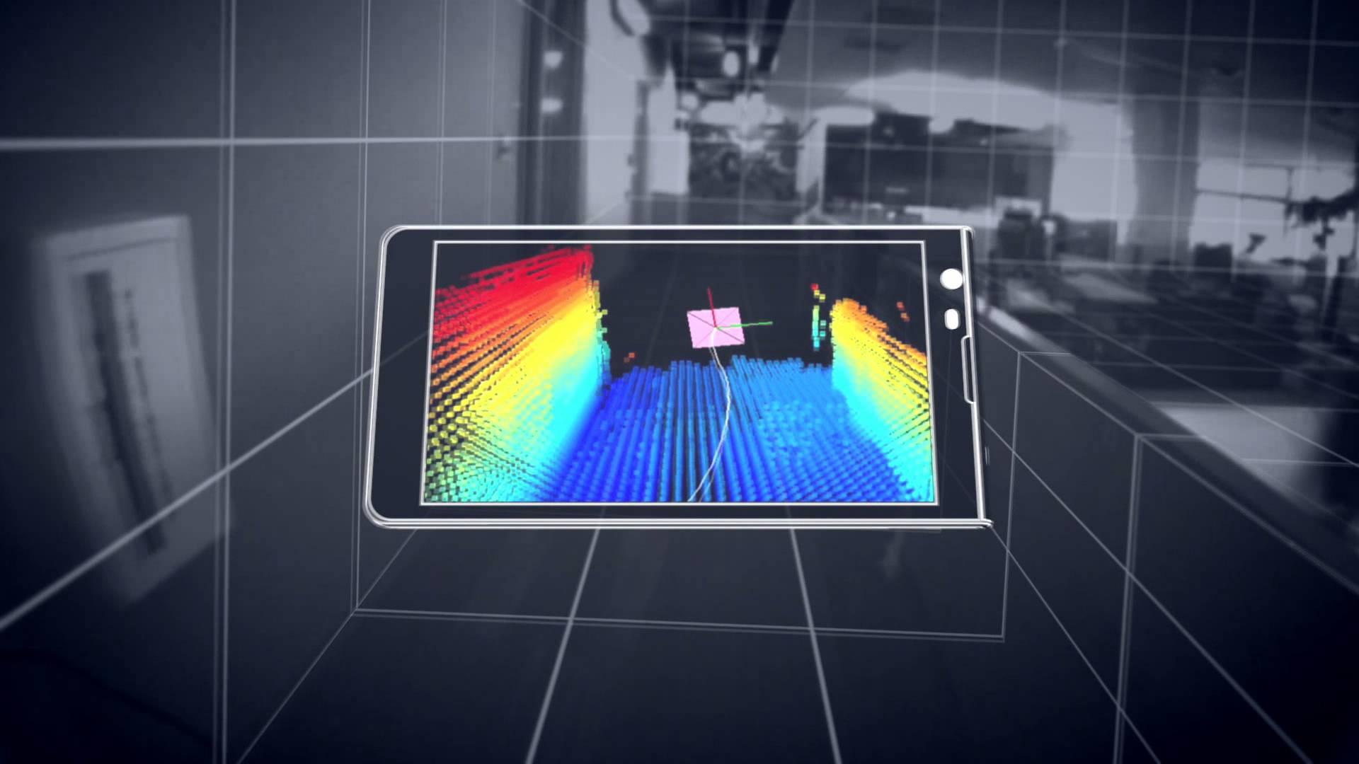 Google 3D Tablet - Project Tango