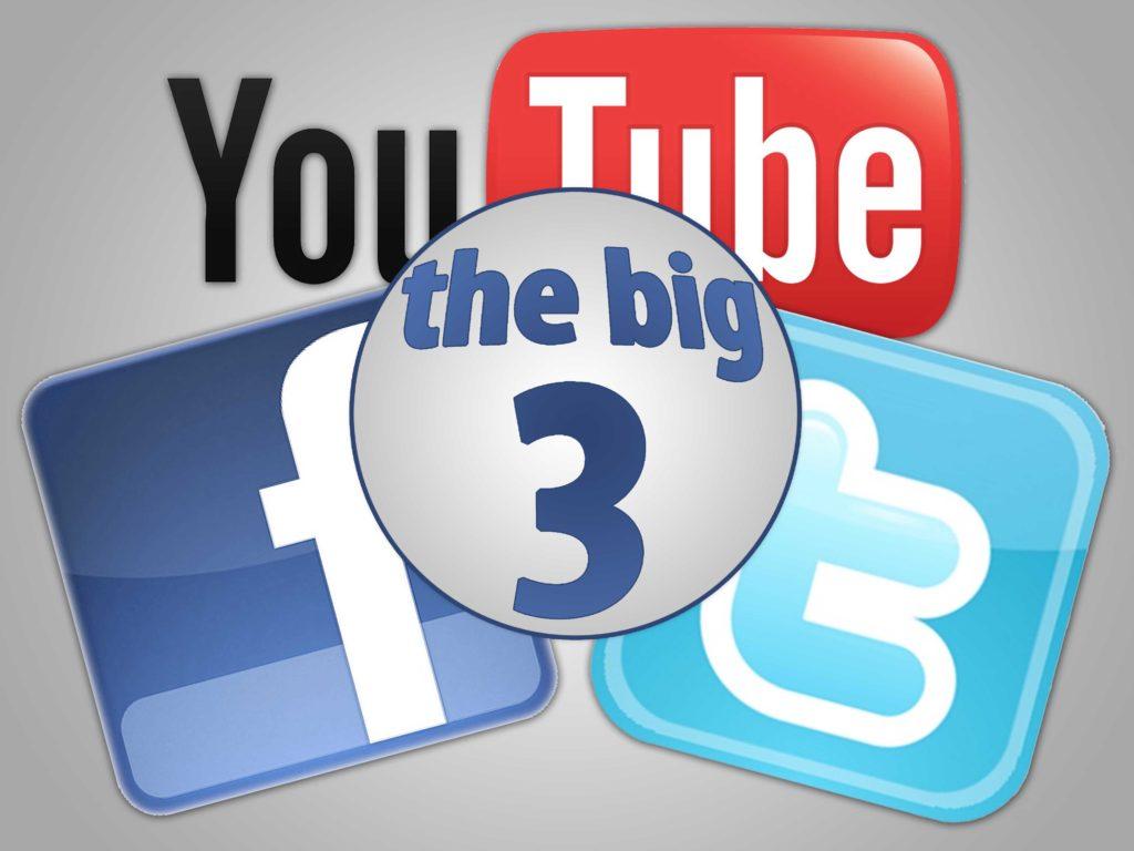 Social Media - The Big Three