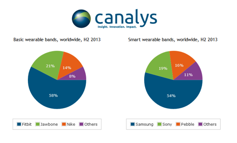wearable bands market H2 2013
