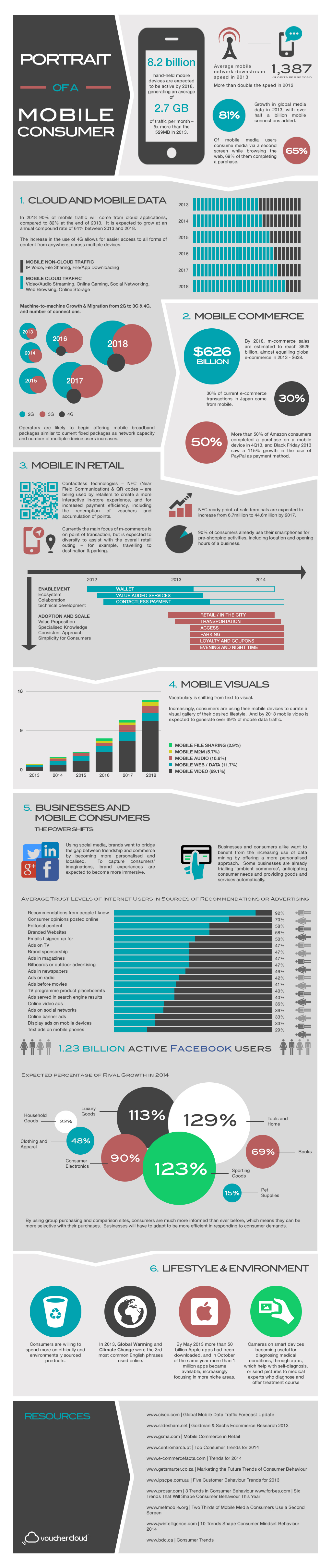 Portrait of a Mobile Consumer: Infographic