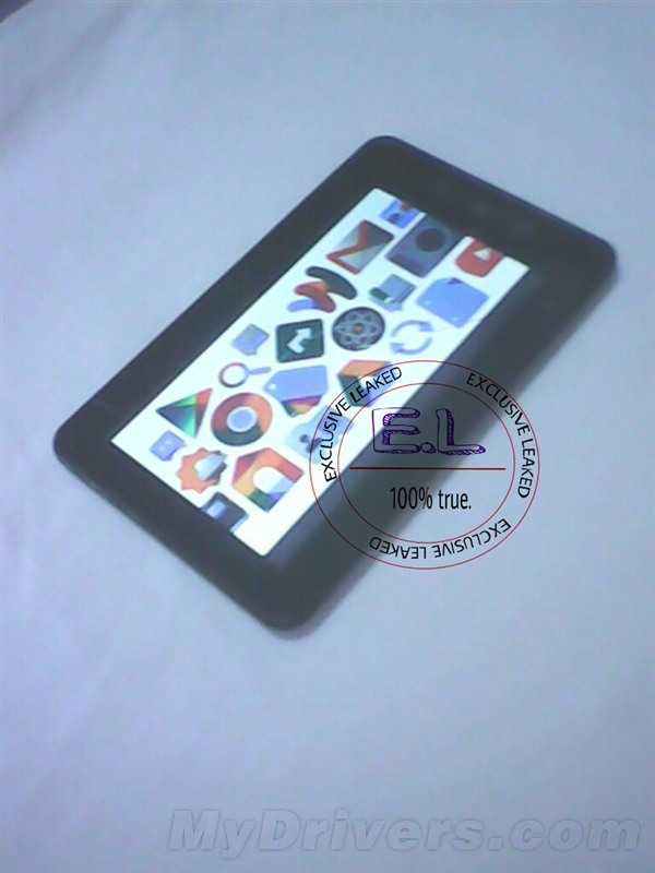 New Leaked Image of Google Nexus 8 Tablet