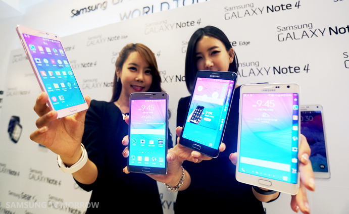 Samsung Galaxy Note 4 launch
