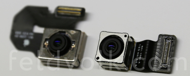 Apple iPhone 6 Camera Sensor Compared To Apple iPhone 5S Camera Sensor