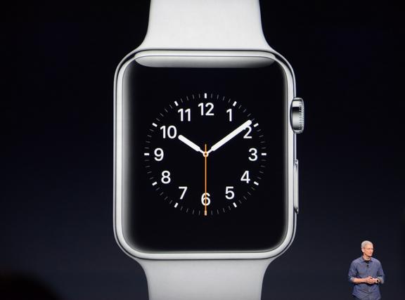 Cook & Apple watch