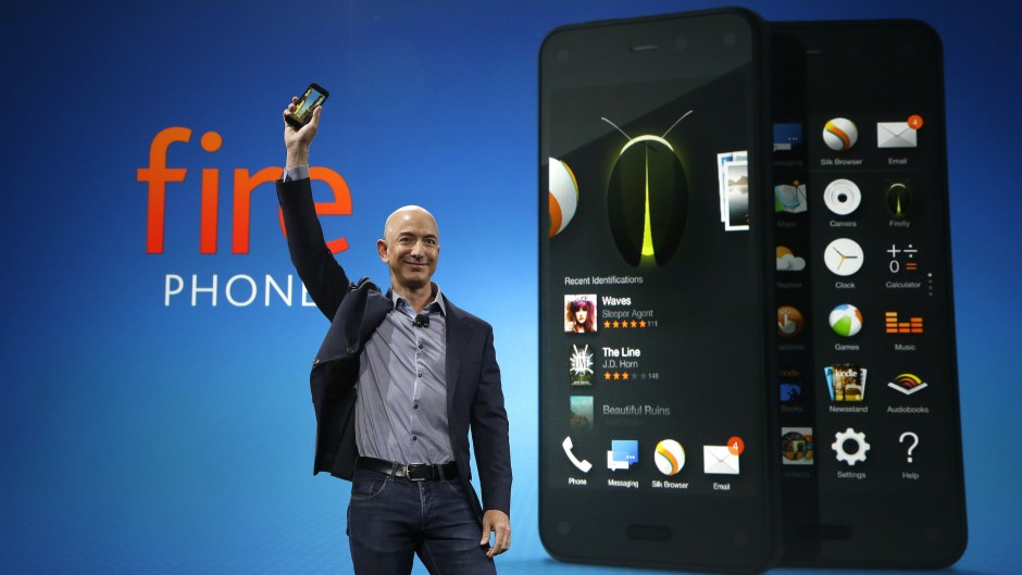 Jeff Bezos Launching Amazon Fire Phone