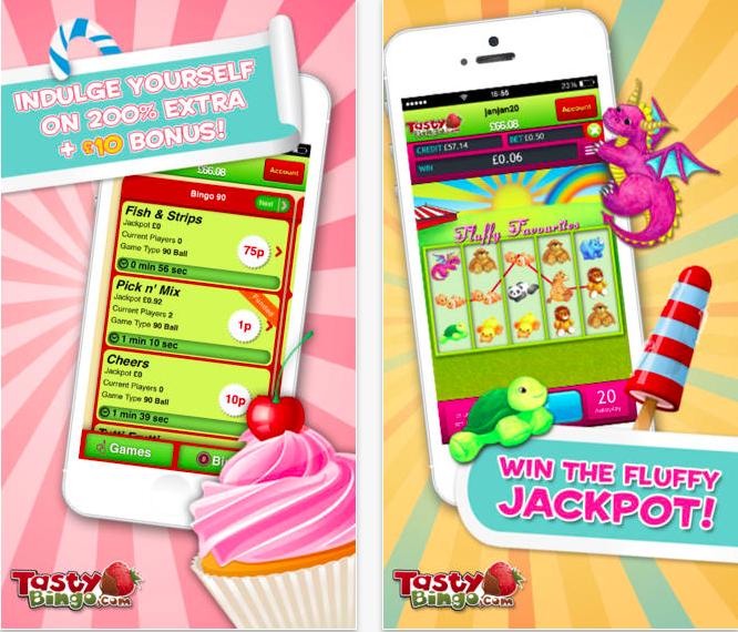 Social gaming app bingo
