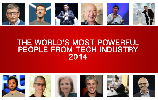 most powerful people from Tech Industry