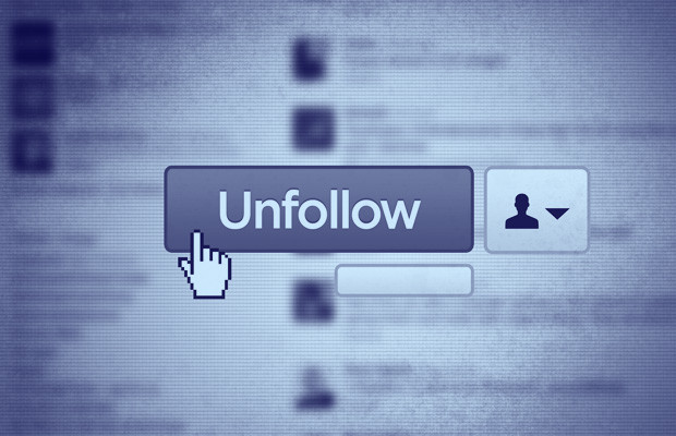 facebook users unfollow brands