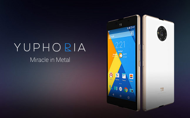 Best budget smartphones in india 2015 Yuphoria