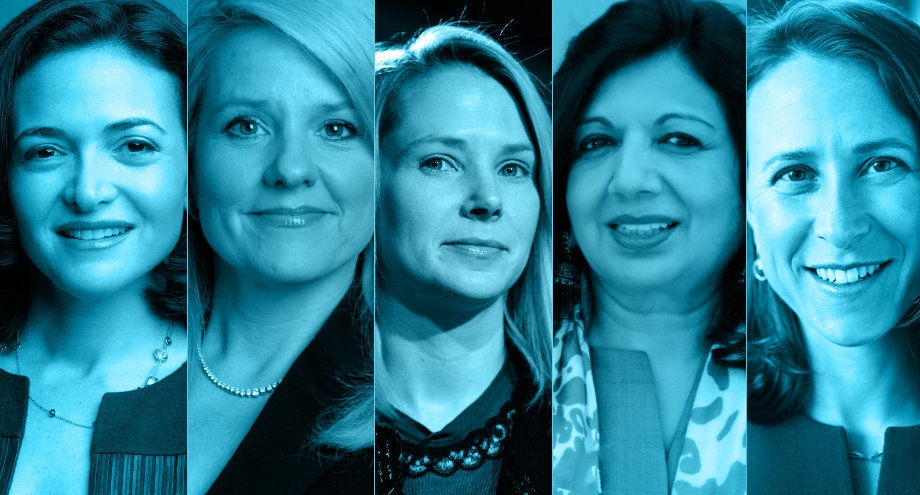 women ruling the tech industry