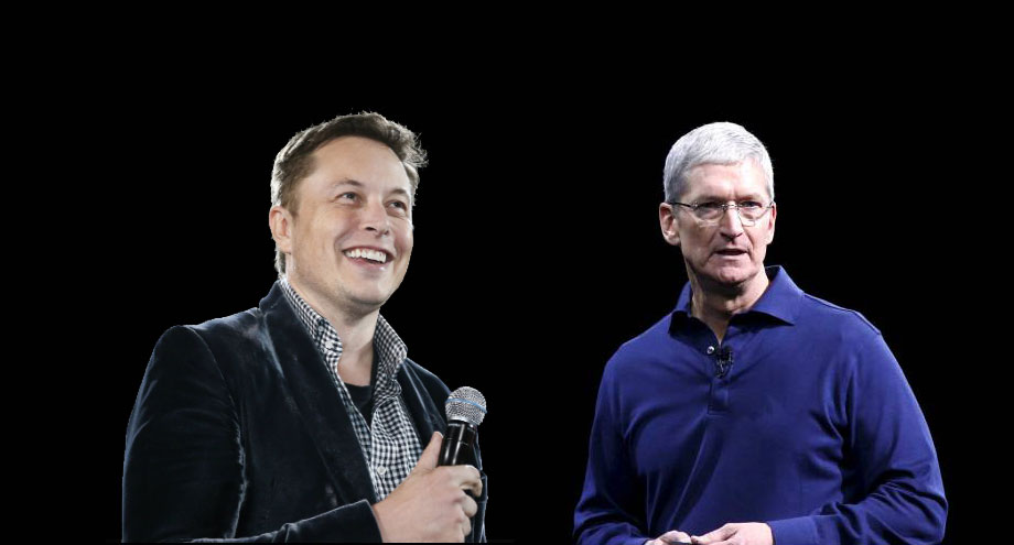 apple acquires tesla motors