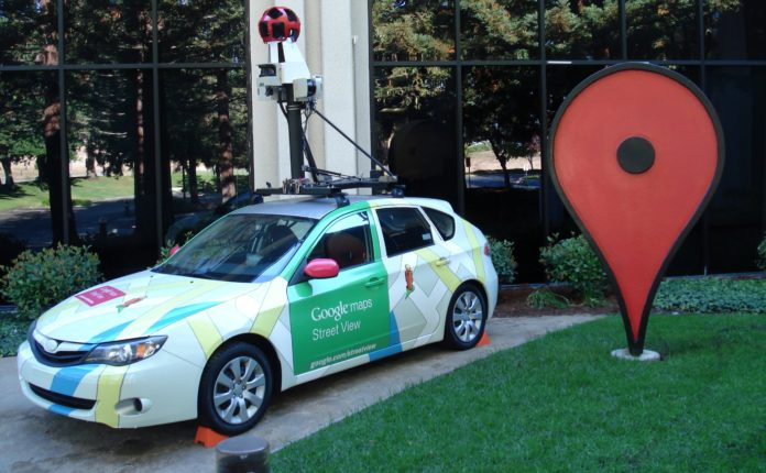 Google Street View banned